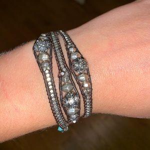 Lucky Brand Chain Wrap Bracelet